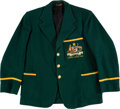 Olympic Collectibles:Autographs, 1948 Marjorie Jackson Australian Olympic Team Jacket.