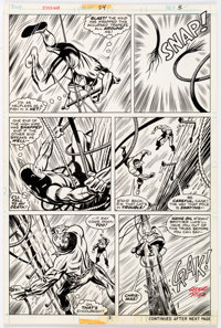 George Tuska and Dave Hunt Power Man #24 Story Page 3 Original Art (Marvel, 1975)
