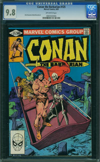 Conan the Barbarian #125 (Marvel, 1981) CGC NM/MT 9.8 Off-white pages