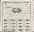 Confederate Notes:Group Lots, Ball 9 Cr. 8 $1,000 1861 Bond Very Fine-Extremely Fine, POC.. ...
