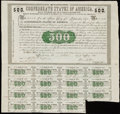 Confederate Notes:Group Lots, Ball 6 Cr. 7 $500 1861 Bond VF;. Ball 7 Cr. 7A $500 1861 Bond Fine.. ... (Total: 2 items)