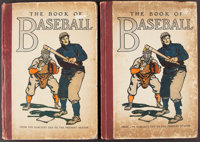 """1911 """"The Book of Baseball,"""" Lot of 2"""