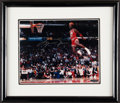 Autographs:Photos, Michael Jordan Signed Photograph. See His Airness...