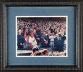 Autographs:Photos, 1969 Opening Day Photograph Signed By Richard Nixon & Ralp...