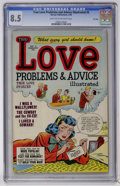 Golden Age (1938-1955):Romance, True Love Problems and Advice Illustrated #5 File Copy (Harvey,1950) CGC VF+ 8.5 Light tan to off-white pages....