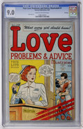 Golden Age (1938-1955):Romance, True Love Problems and Advice Illustrated #1 File Copy (Harvey,1949) CGC VF/NM 9.0 Cream to off-white pages....