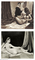 "Original Comic Art:Sketches, Kelly Freas - Canvas Confidential ""Odalisque en Grisaille"" Original Illustration (Dial Press, 1963). An amusing ""behind the ..."