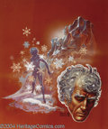 "Original Comic Art:Covers, Kelly Freas - ""Ice Prison"" Laser Book #38 Cover Original Art (LaserBooks, 1976). Ice Prison by Kathleen Sky, Laser Book..."