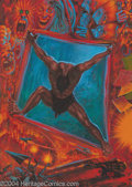 """Original Comic Art:Paintings, Kelly Freas - """"Staying Sane in a Crazy World"""" Unpublished Cover Painting Original Art (1993). Acrylic on board, 12.25"""" x 17""""..."""