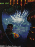 "Original Comic Art:Sketches, Kelly Freas - ""Cosmic Express"" Amazing Stories Illustration Original Art (Amazing Stories, 1994). Acrylic on board, with an ..."