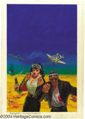 "Original Comic Art:Covers, Kelly Freas - ""Birds of Prey"" Unused Cover Painting Original Art(1998). Acrylic on board, 11"" x 17"", signed at the lower le..."