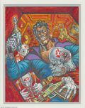 "Original Comic Art:Covers, Kelly Freas - ""Black Barney I"" Painting Original Art (undated).Acrylic on board, with an image area of 10.5"" x 13.5"", not s..."