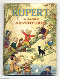 Books:First Editions, Alfred Bestall - Rupert in More Adventures (The Daily Express,1945). When Mary Tourtel created Rupert the Bear in 1920, she...