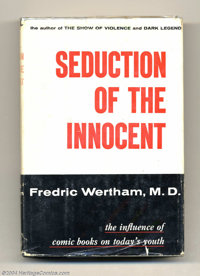Seduction of the Innocent and Related Books Group (Various, 1941-53). We're pleased to offer three books by Fredric Wert...