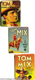 Books, Tom Mix Book Group (1930s-40s). Q Here's the original CowboySuperstar, in a number of different (mostly) small-sized books; ...(Total: 10 items Item)