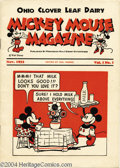 Memorabilia:Miscellaneous, Mickey Mouse Magazine V1#1 (Walt Disney Productions, 1933) Condition: FN. This cute little comic is one of a variety of Mill...