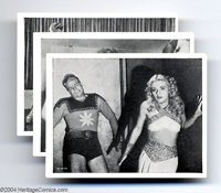 """Flash Gordon Cards (Circa 1936). Complete set of 12 cards from the Universal chapter-play (serial) """"Flash Gordon,&q..."""