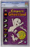 Bronze Age (1970-1979):Cartoon Character, Casper's Ghostland #56 File Copy (Harvey, 1970) CGC NM/MT 9.8 Whitepages....