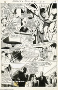 Original Comic Art:Panel Pages, Neal Adams and Vince Colletta - The Brave and the Bold #81, page 4Original Art (DC, 1968). Neal Adams took the opportunity ...