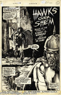 Original Comic Art:Splash Pages, John Buscema and Alfredo Alcala - Savage Sword of Conan #36, page 5Original Art (Marvel, 1978). A stunning title splash pag...