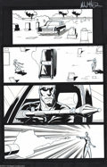 Original Comic Art:Panel Pages, Mike Hawthorne and Rick Remender - Terminator 3 #4, pages 14 and 51 Original Art (Beckett, 2003). Two exciting pages from th...