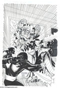 Original Comic Art:Covers, Ben Herrera and Mike Christian - Ultraverse Premiere #9 CoverOriginal Art (Malibu, 1995). Artists Ben Herrera and Mike Chri...