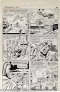 Original Comic Art:Panel Pages, Jack Kirby and Chic Stone - Journey Into Mystery #109, page 13Original Art (Marvel, 1964). This historic issue features the...