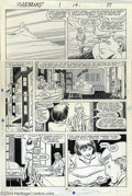 "Original Comic Art:Panel Pages, John Romita Jr. and Al Williamson - Star Brand #1, pages 19 and 22 Original Art (Marvel, 1986). This ""New Universe"" title wa... (Total: 2 Original Art Item)"