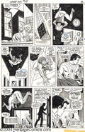 Original Comic Art:Panel Pages, John Romita Sr., Don Heck, and Mike Esposito - Amazing Spider-Man#59, page 3 Original Art (Marvel, 1968). Spider-Man uses h...