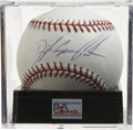 Autographs:Baseballs, Dwight Gooden Single Signed Baseball Mint PSA 9. Dr. K was one ofthe most-feared hurlers of the 1980s, but his troubles of...