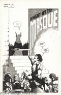 Original Comic Art:Splash Pages, Dave Sim - Cerebus #16, page 2 Original Art (Aardvark-Vanaheim,1980). Cerebus arrives just in time for Lord Julius's masque...