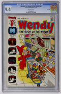 Bronze Age (1970-1979):Cartoon Character, Wendy, the Good Little Witch #82 File Copy (Harvey, 1973) CGC NM9.4 Off-white pages....