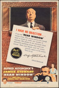 """Movie Posters:Hitchcock, Rear Window (Paramount, R-1962). Rolled, Fine/Very Fine. Poster (40"""" X 60""""). Hitchcock.. ..."""