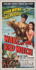 """Movie Posters:Adventure, Wake of the Red Witch (Republic, 1949). Folded, Fine/Very Fine. Three Sheet (41"""" X 80""""). Adventure.. ..."""