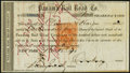 Miscellaneous:Other, Panama Rail Road Co. 100 Shares Nov. 18, 1870 Very Fine, 9 POCs.. ...