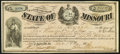 Jefferson City, MO- State of Missouri War Claim Certificate $215 Nov. 19, 1874 Choice About Uncirculated