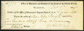 Washington, DC - Office of Discount and Deposit of the Bank of the United States at Cincinnatti (sic) $223 Dec. 8, 18