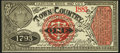 """Philadelphia, PA- Harrison Bros and Co's Advertising Note """"1"""" 1883 Vlack 3745 Choice Crisp Uncirculated"""