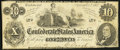 Confederate Notes:1862 Issues, T46 $10 1862 Fine.. ...