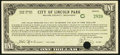 Obsoletes By State:Michigan, Lincoln Park, MI- City of Lincoln Park $1 June 15, 1934 Shafer MI531-1c Extremely Fine, POC.. ...