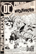 Original Comic Art:Covers, Joe Kubert Showcase #84 Cover Nightmaster Original Art (DC, 1969)....