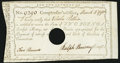 Colonial Notes:Connecticut, State of Connecticut Comptroller's Office March 4, 1790 £2 Very Fine, HOC.. ...