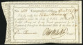 Colonial Notes:Connecticut, State of Connecticut Comptroller's Office April 24, 1789 £1 Extremely Fine.. ...