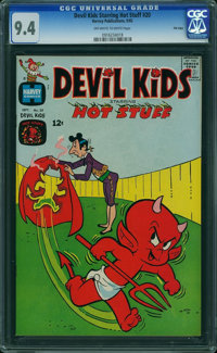 Devil Kids Starring Hot Stuff #20 - File Copy (Harvey, 1965) CGC NM 9.4 Off-white to white pages