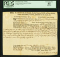 Sheriff of County of Essex - Great Britain, France, & Ireland 7 Pounds Sept. 13, 1756 PCGS Apparent Extremely Fine 4...