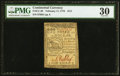 Continental Currency February 17, 1776 $1/3 PMG Very Fine 30