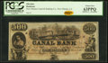 New Orleans, LA- Canal Bank $500 18__ Remainder PCGS Choice New 63PPQ