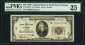 Low Serial Number 2119 Fr. 1870-G* $20 1929 Federal Reserve Bank Note. PMG Very Fine 25