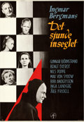 """Movie Posters:Foreign, The Seventh Seal (Svensk Filmindustri, 1957). Very Fine, On Paper. Full-Bleed Swedish One Sheet (28"""" X 39.5"""") Gosta Aberg Ar..."""