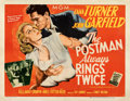 Movie Posters:Film Noir, The Postman Always Rings Twice (MGM, 1946). Fine/Very Fine...